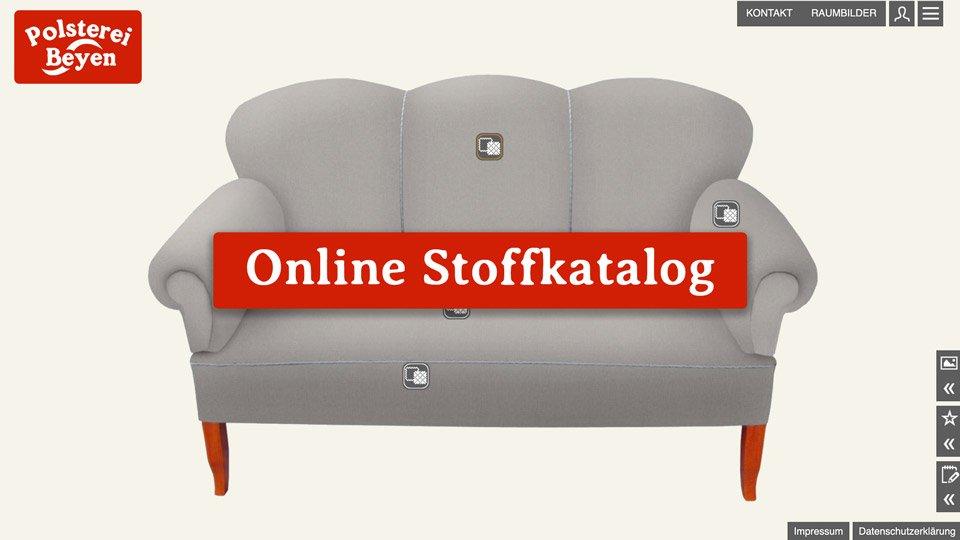 Online Stoffauswahl von Materialo starten